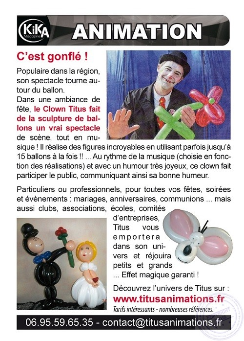 KiKA N°98 Juillet Aout 2014.indd